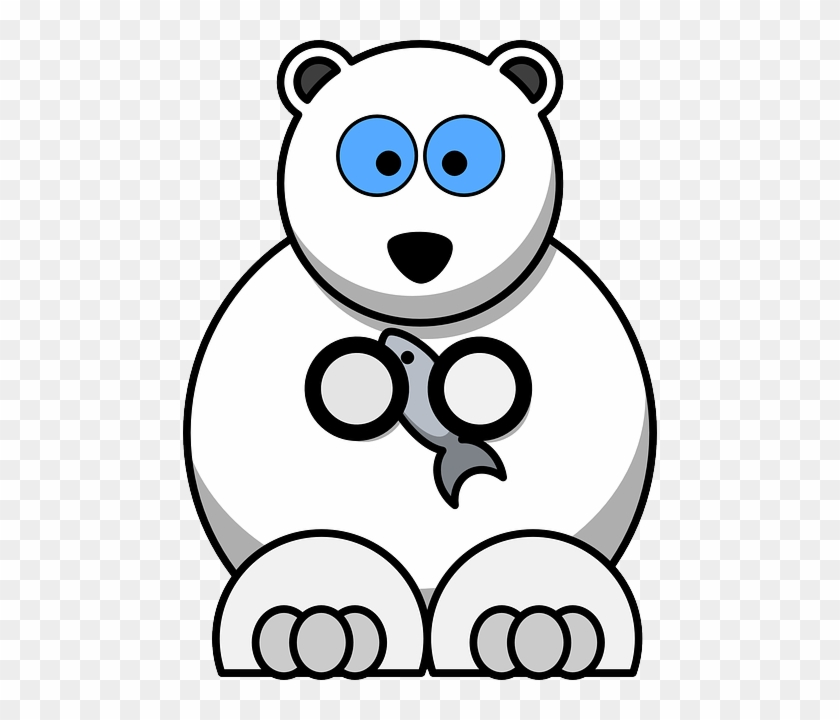 Free Vector Graphic - Cartoon Polar Bear #181125