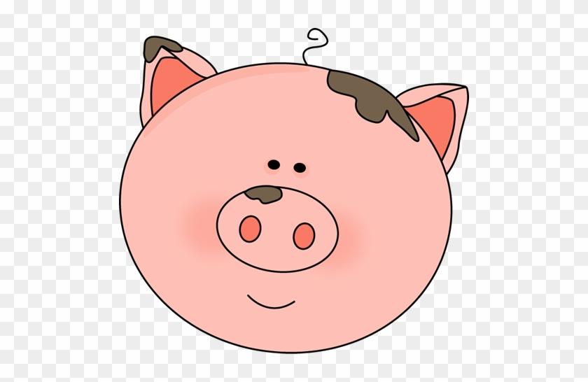 Cartoon Pig Face - Cute Pig Cartoon Face #181187