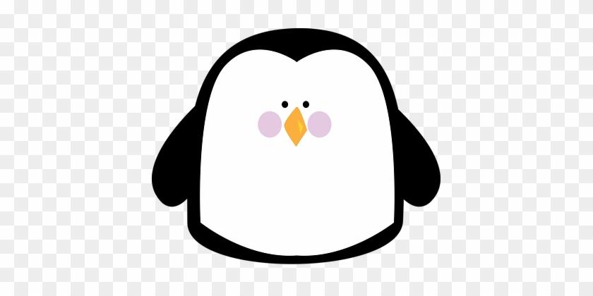 Animal Animals Arctic Penguin Simple Anima - Simple Clipart Animals #181255