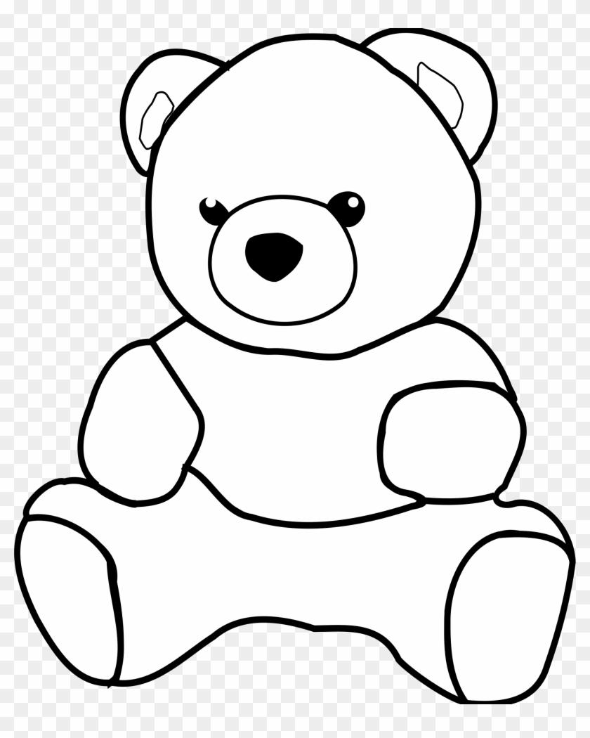 Teddy Bears Picnic Clip Art Teddy Bear Clipart Outline Free