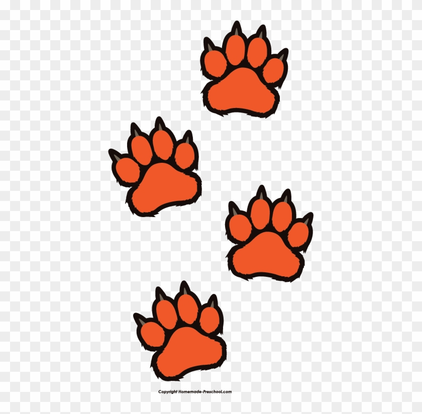 home free clipart paw prints clipart tiger paw prints - tiger paws clip art  - free transparent png clipart images download  clipartmax