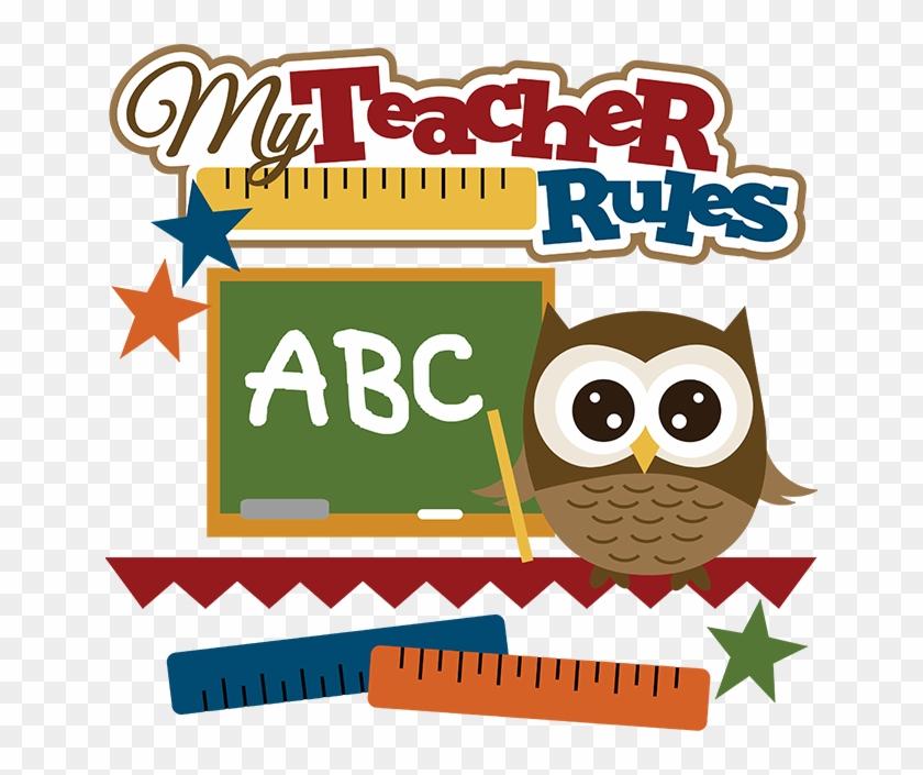 Cute Education Clip Art Certificate For A Great Teacher Free