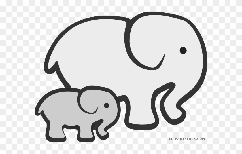 Baby Elephant Animal Free Black White Clipart Images Stickers Black And White Free Transparent Png Clipart Images Download Embed this art into your website elephant clipart for kids. baby elephant animal free black white