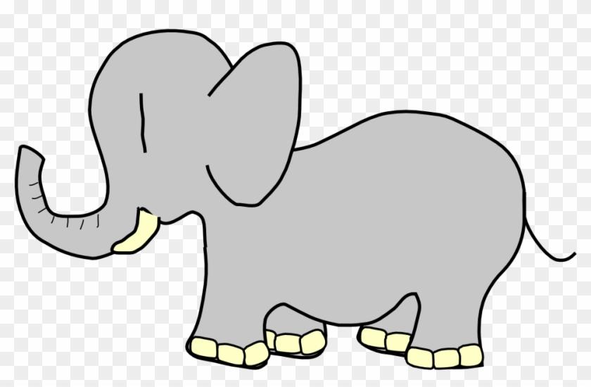 Net » Clip Art » Elephant Animal Super Duper Svg - Animated Of Baby Elephant #181829