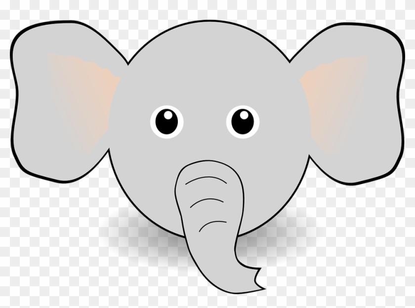 Funny Elephant Face Cartoon By Palomaironique Funny - Draw A Cartoon Elephant Face #181841