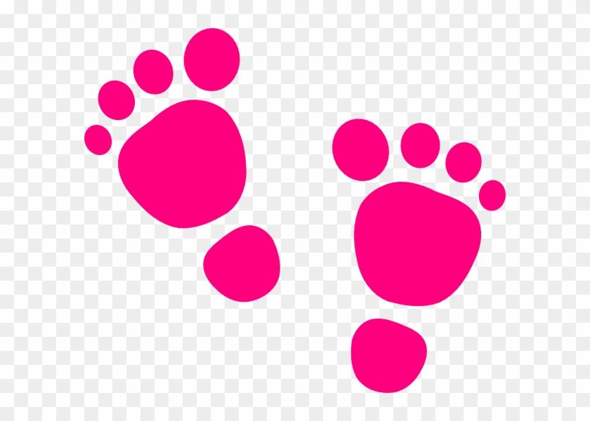 Baby Boy Footprints Clip Art - Baby Feet Clip Art #181856