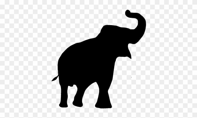 Elephant With Trunk Up Clip Art #181923
