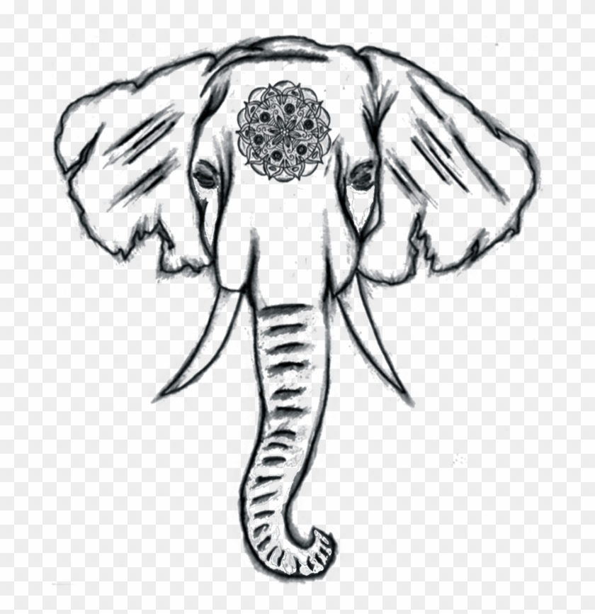 Easy Elephant Drawing At Getdrawings Cute Things To Draw