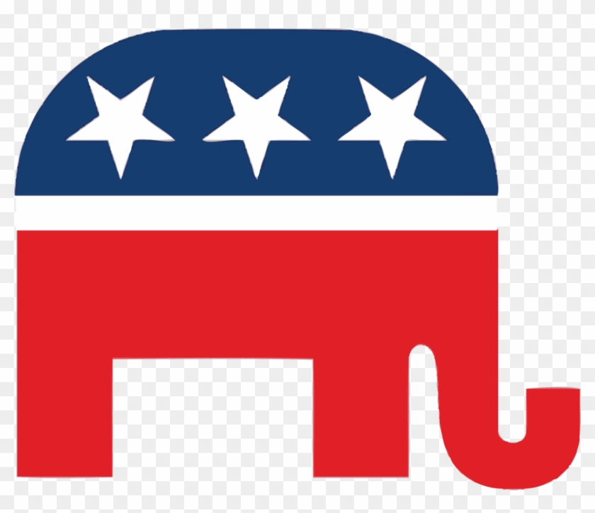 Republican Party Elephant Clipart - Republican Party Symbol Transparent #182047