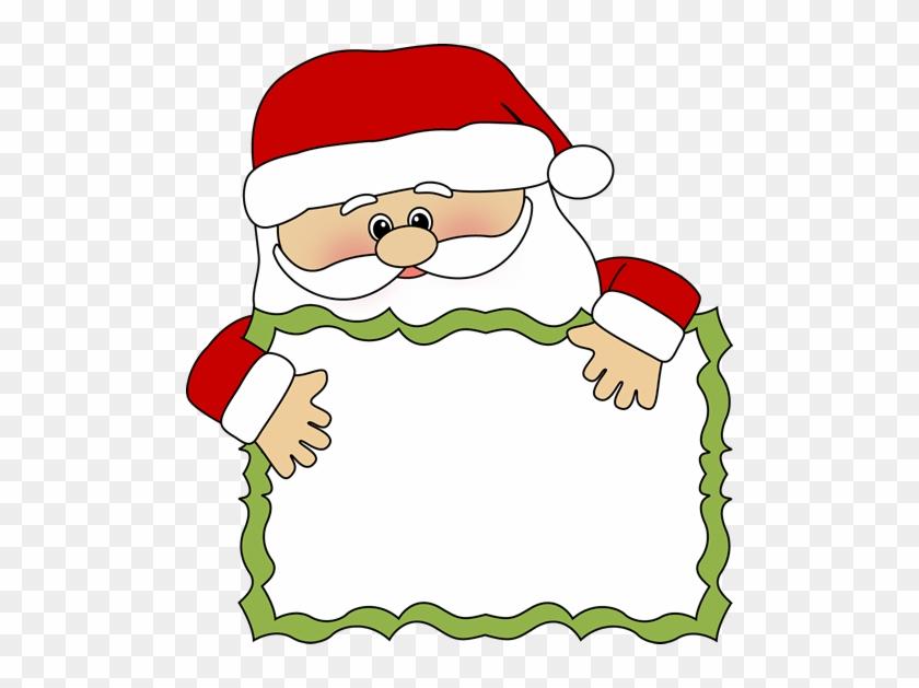 Santa Clip Art - Thank You From Santa #182210