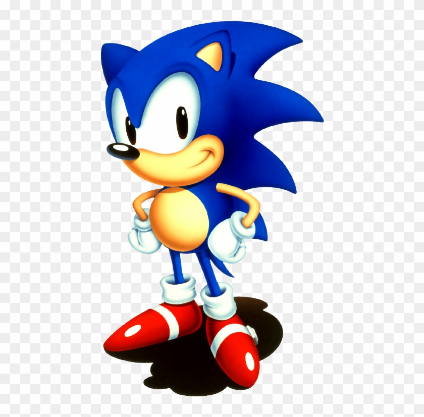Sonic Hedgehog Kids Colouring Pictures To Print And - Sonic The Hedgehog 2  Sonic - Free Transparent PNG Clipart Images Download