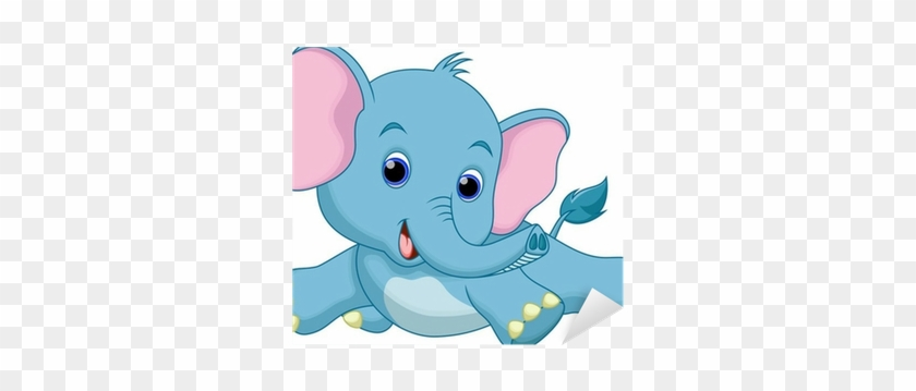 Cute Elephant Cartoon #182290