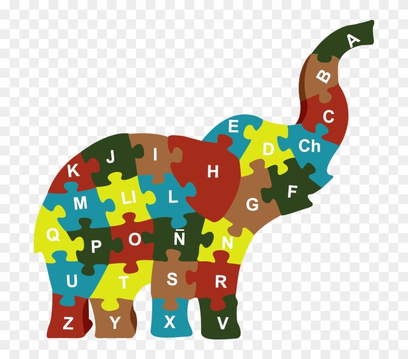 Digital Posterized Version Of An Elephant - Indian Elephant #182294