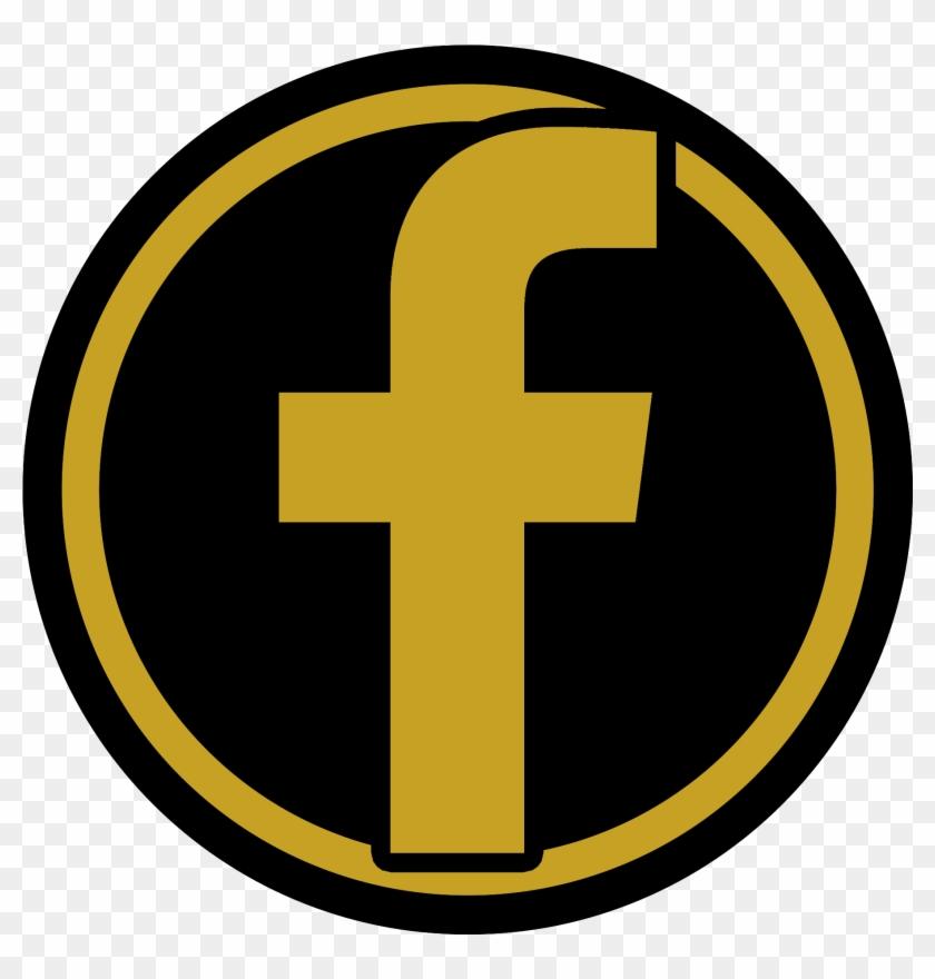 Circle Facebook Logo Black Png Free Transparent Png