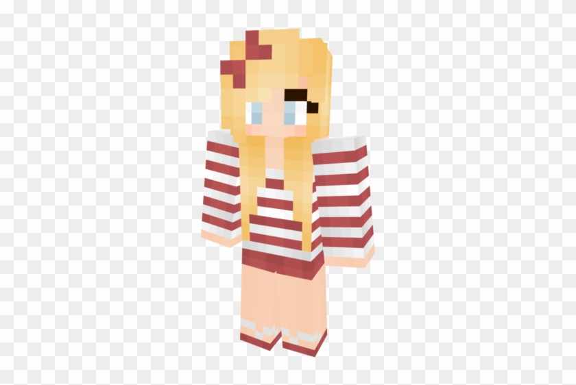 Skins Kawaii Minecraft Hair Free Transparent Png Clipart Images Download