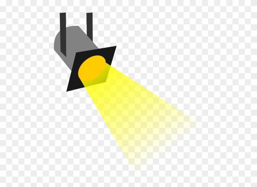 Movie Spotlight Clipart - Spot Light Clip Art #1027430