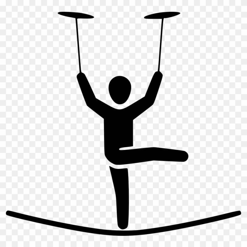 Tightrope Walker Clip Art