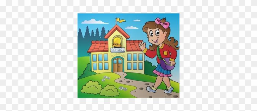 School Building Clip Art #1028780