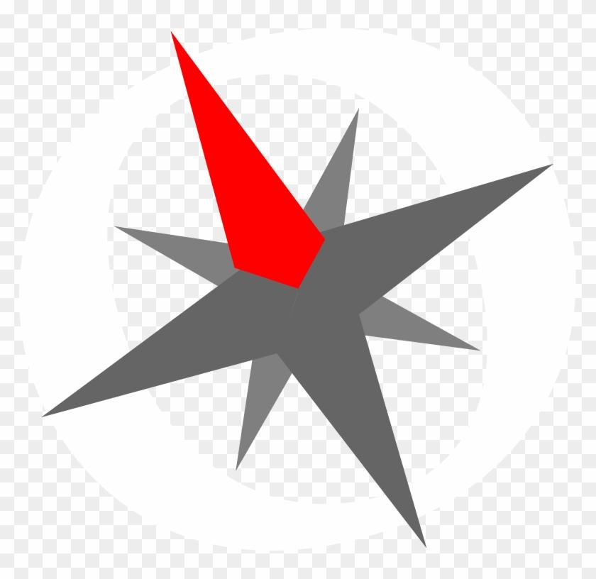I Used Adobe Illustrator To Make The Compass Graphic - Illustration #1029660