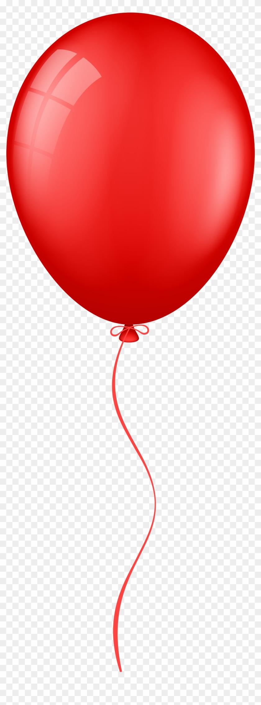 Картинка красные воздушные шарики