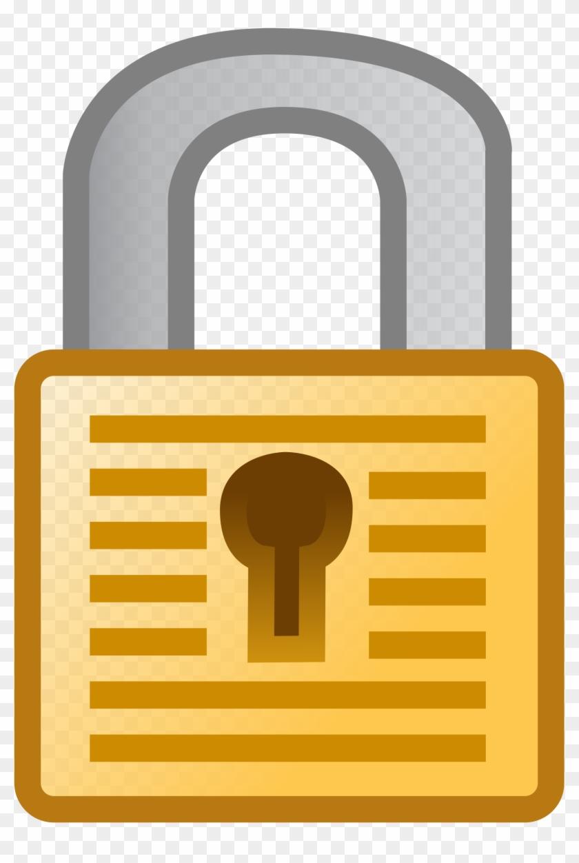 Padlock Clipart - Clip Art Pad Lock - Free Transparent PNG Clipart Images  Download