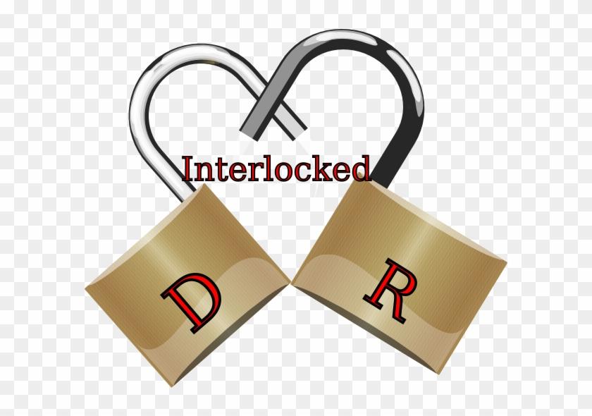Interlocked Clip Art At Clker - Love #1030208