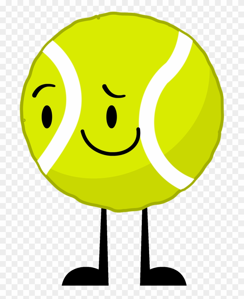New Tennis Ball Pose - Bfdi Tennis Ball And Golf Ball Died #1030241