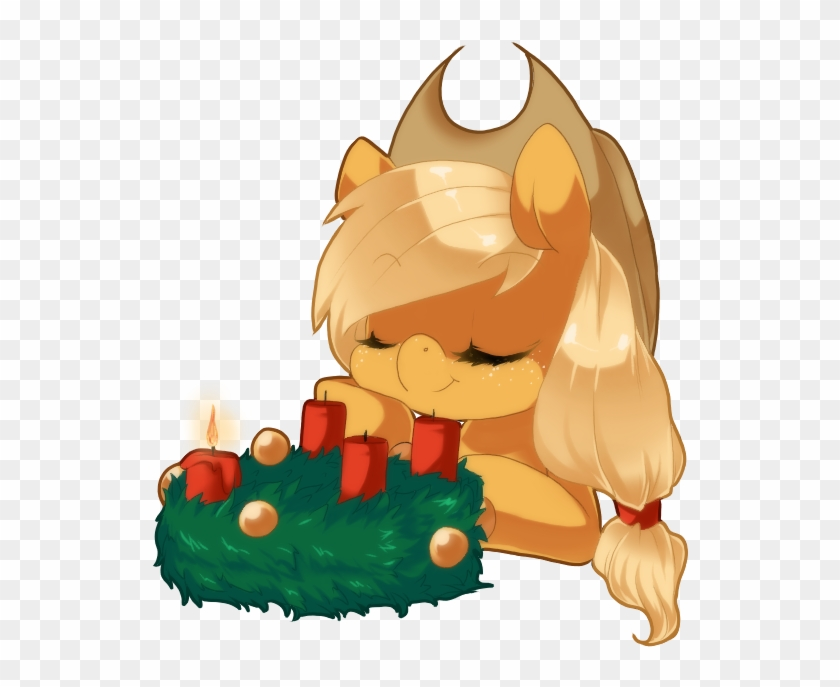 Advent Wreath, Applejack, Artist - Cartoon #1030991