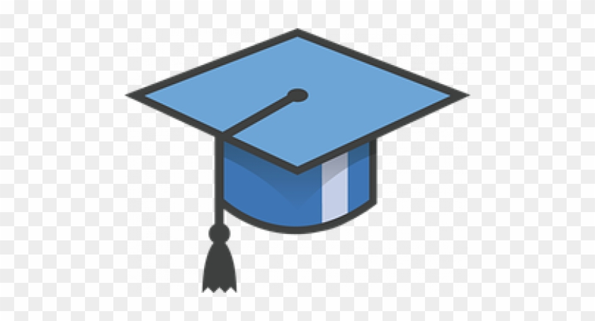 Preparing For The Transition From High School To College - Blue Grad Hat Clipart #1031256