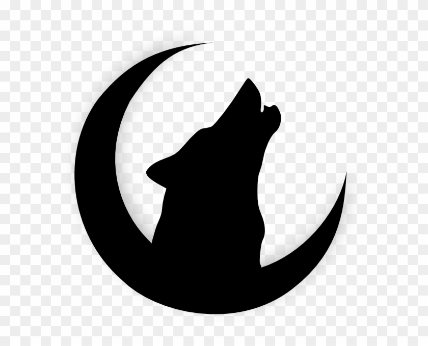 Howling Wolf Head Drawing Wolf Howling At Moon Silhouette Free