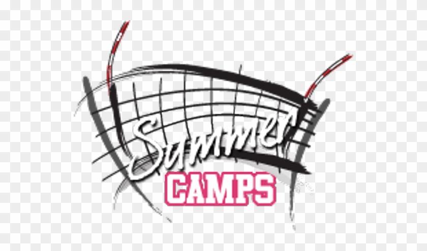 Summer Volleyball Camp Logo #1031850