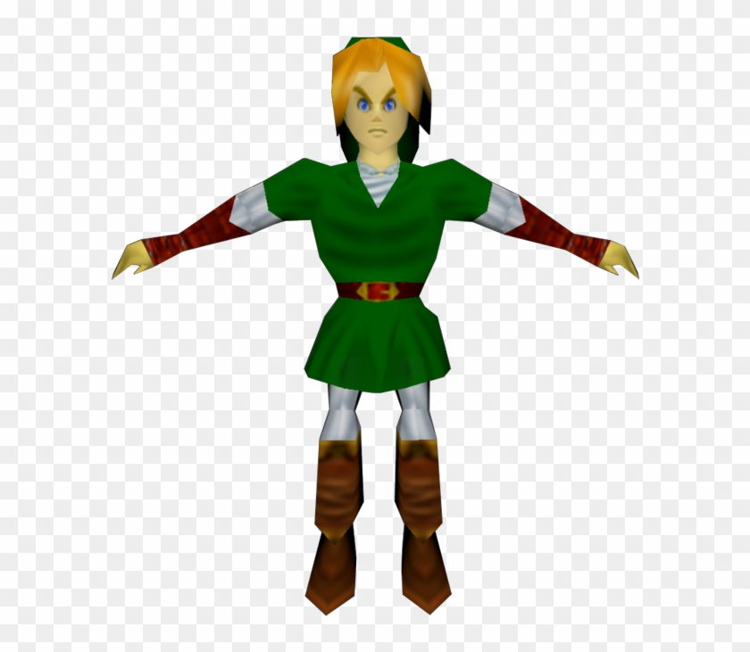 Download Zip Archive - Ocarina Of Time Link Model - Free