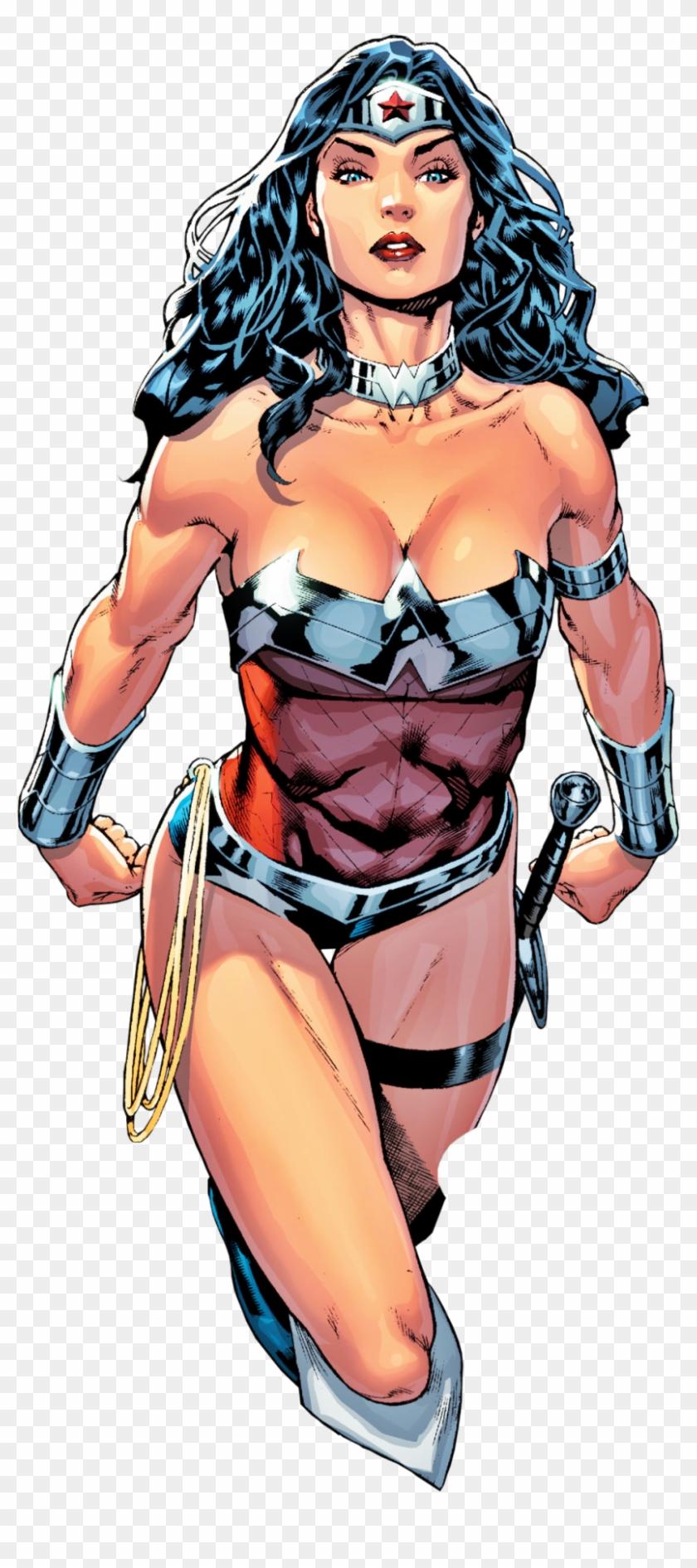 Wonder Woman - Comic Wonder Woman Cartoon Full Body #1033166