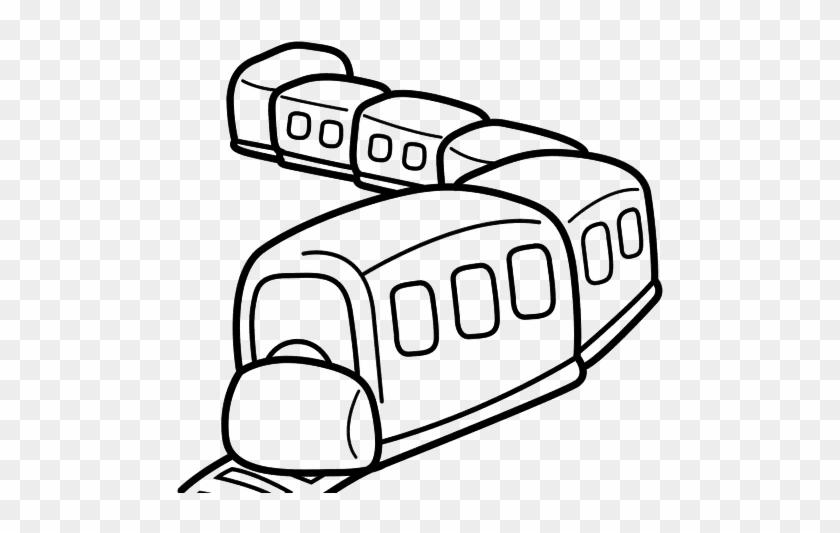Dibujo Del Tren Para Colorear Free Transparent Png Clipart Images