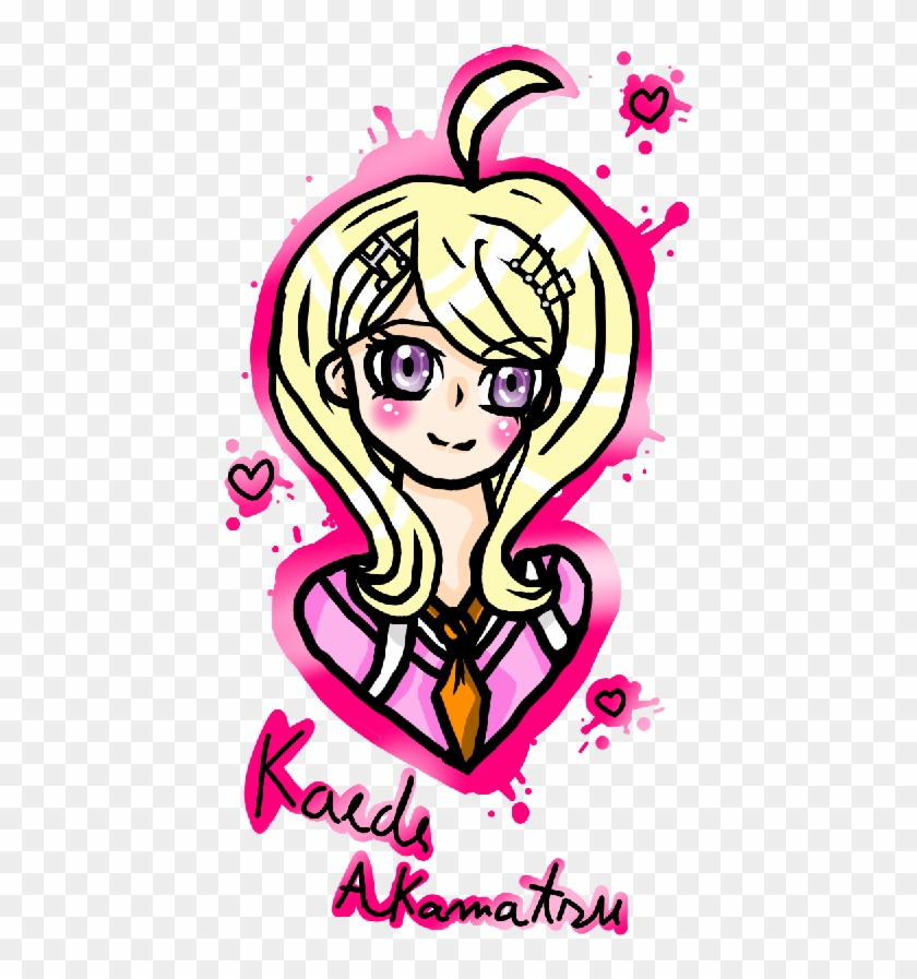 Kaede Akamatsu By Astronaut Bixy Illustration Free Transparent Png Clipart Images Download