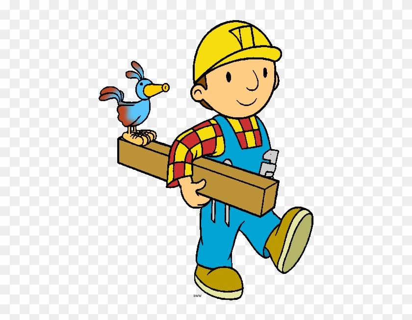 Рисованные картинки строитель