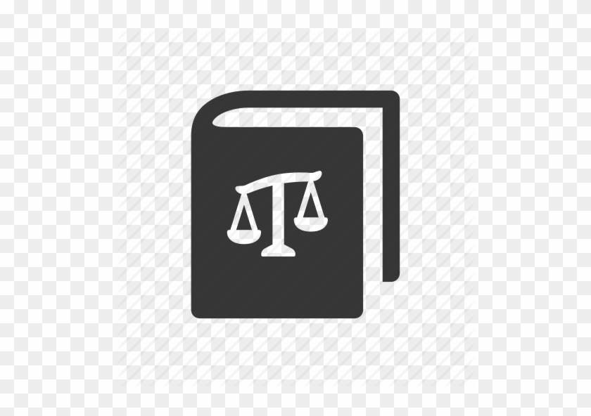 Law Book Icon - Book Of Law Icon #1034393