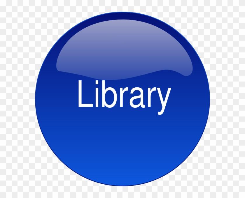Library Button 2 Svg Clip Arts 600 X 600 Px - Training Clip Art #1034540