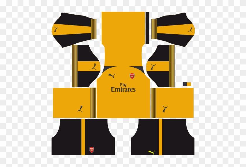 Arsenal Kits Logo Url Dream League Soccer 2018 2019 - Manchester United Kit Gk #1035075