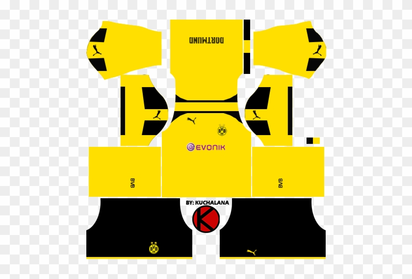 Borussia Dortmund 2016 17 Dream League Soccer Kits - Dream League Soccer  2018 Kit Buriram   1b66a9938