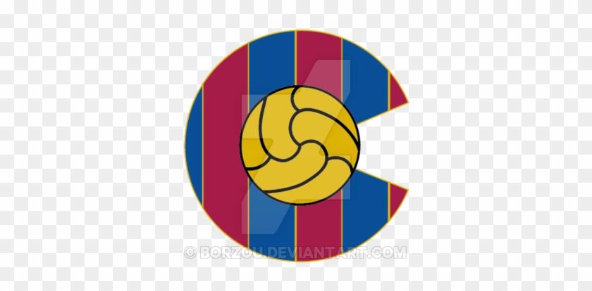 Denver Fc Barcelona Logo By Borzou On Deviantart Rh - Escudo Del Granada Cf #1035107