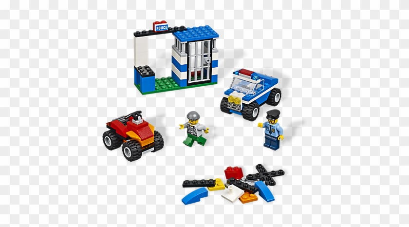 Build Action And Excitement With Cops And Robbers - Police Jail Lego Set #1035692