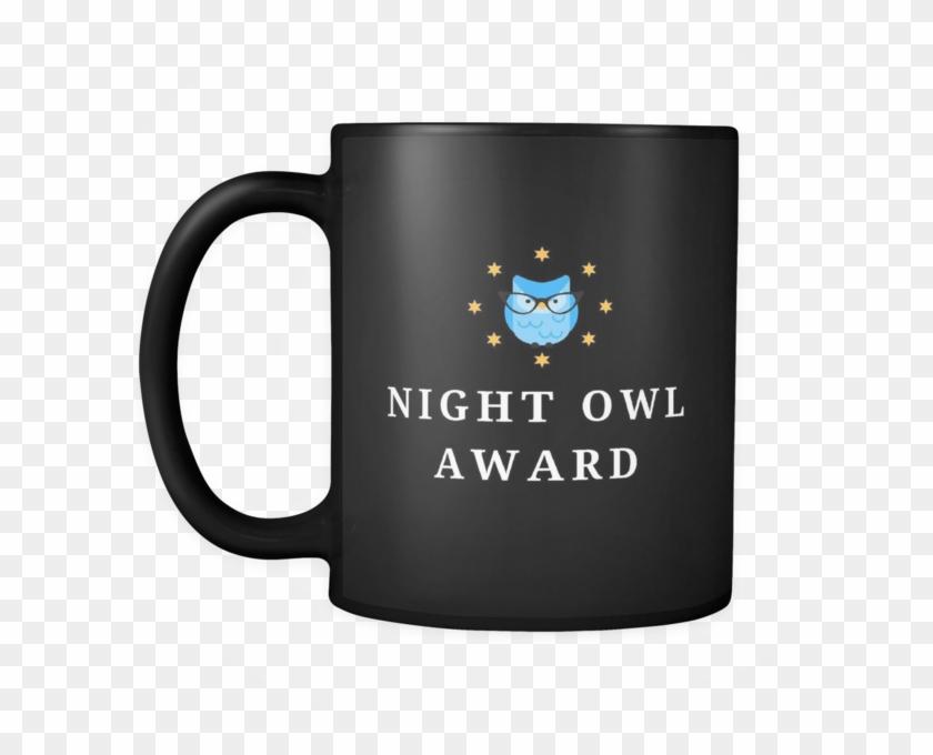 Night Owl Coffee Mug - Vintage Lady Mug - 11 Oz #1036075