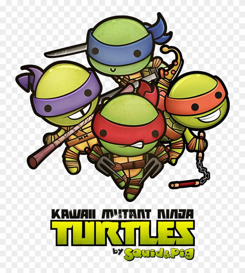 Amusing Teenage Mutant Ninja Turtles Clip Art Medium - Teenage Mutant Ninja Turtles City Drawing #1036457