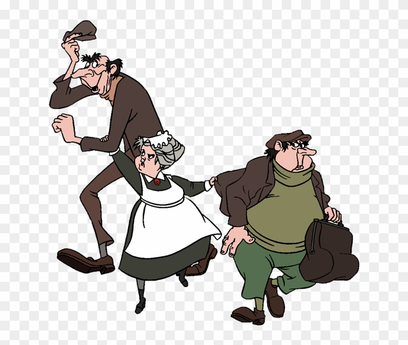 Roger Anita And Nanny Image 101 Dalmatians Horace And Jasper Free Transparent Png Clipart Images Download