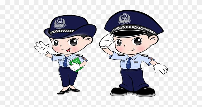 Free vector police cartoon clipart 2 - WikiClipArt