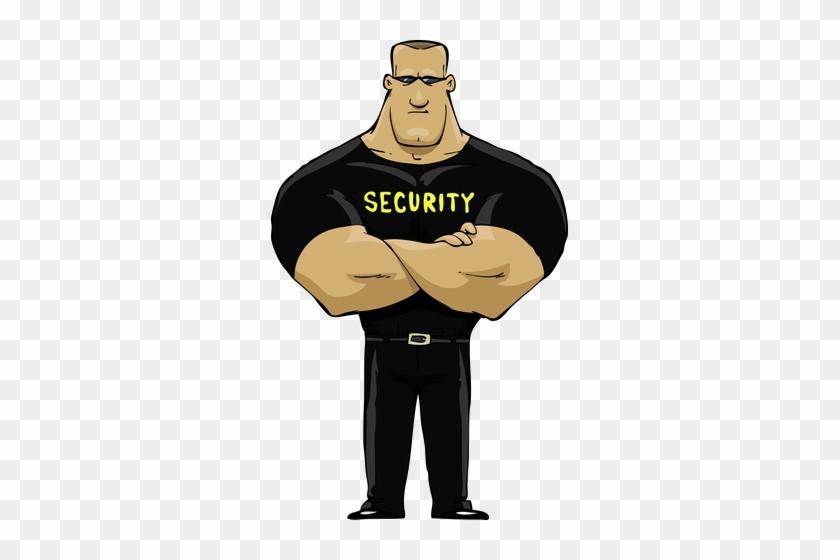 Открытка, смешные картинки служба безопасности