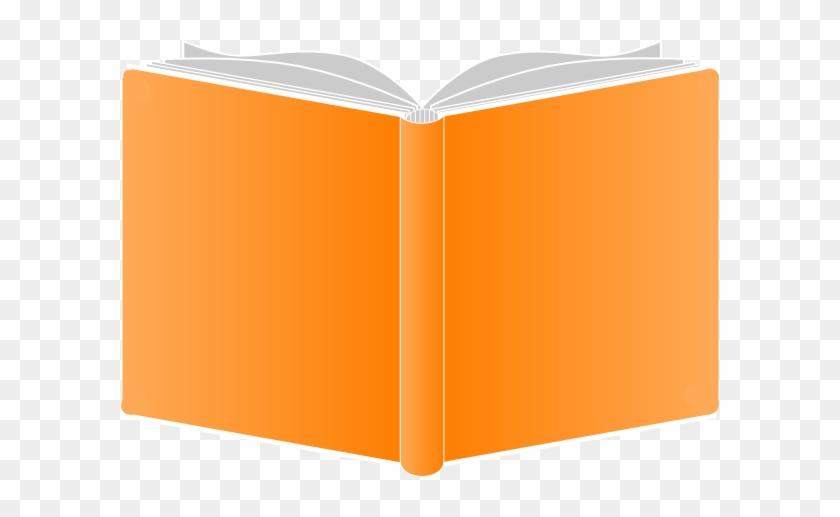 Openbook Orange Covers Round Clip Art At Clker - Orange ... (840 x 517 Pixel)