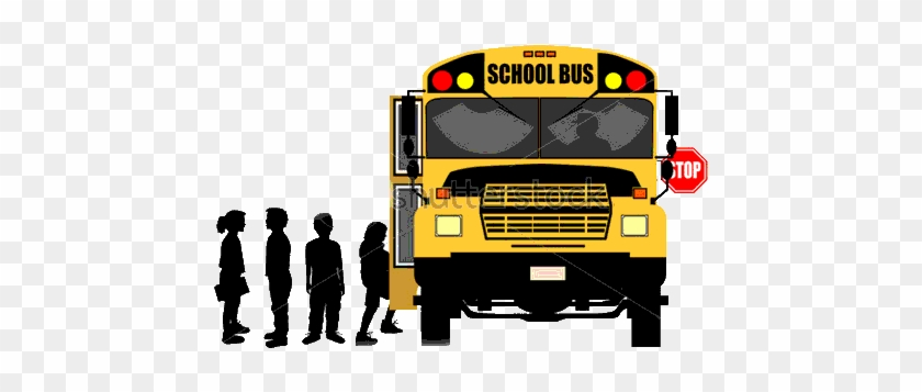 Back To Home Page - School Bus Clip Art #1037735