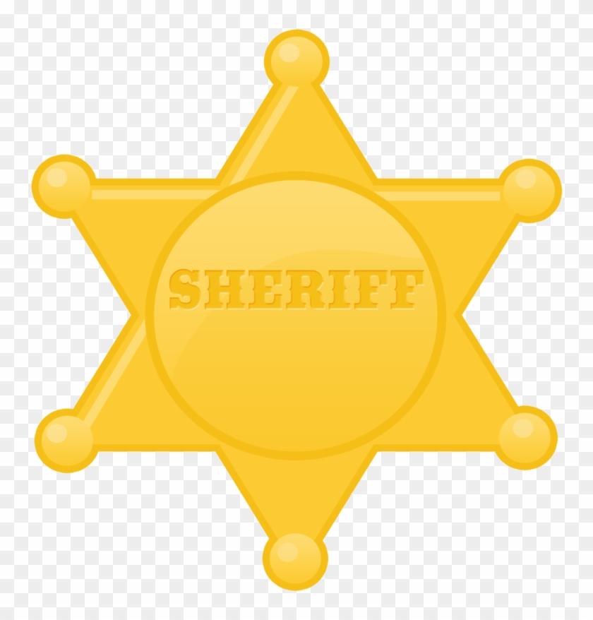 Estrela Xerife Sheriff Badge Country Western Teen Wolf